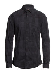 One Tone shirt ls I - Navy Blue