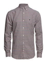 Two Collect Check shirt ls H - Marshmallow