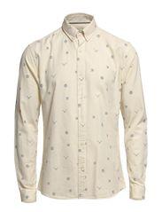 One Book shirt ls H - Egret