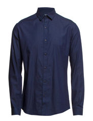 One Chris Roy shirt ls ID - Dark Blue Denim