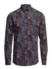 One Ras shirt ls ID - Navy Blazer