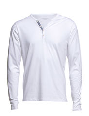 Pima ask joe ls split neck NOOS ID - Bright White