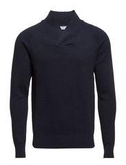 Troy shawl neck BP ID - Navy Blazer