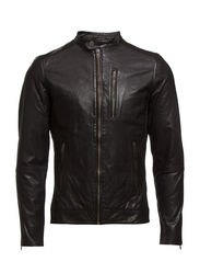 Adrian Leather Jacket BP ID - Black