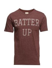 Batter up ss o-neck H - Rum Raisin