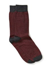 Sennel sock H - Dark Grey Melange