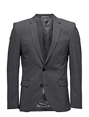 SHDONE-MYLOGIB3 GREY MIX BLAZER NOOS - GREY