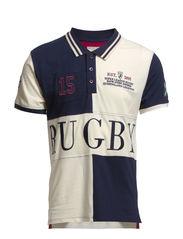 Rugby ss polo H - Navy Blazer
