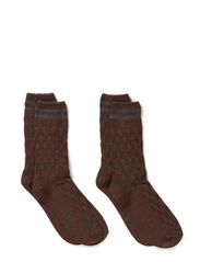 Nate sock 2-pack H - India Ink