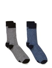 Robin sock 2-pack H - Bering Sea