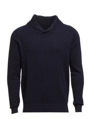Eldon shawl neck ID - Navy Blazer