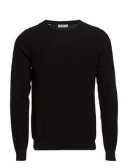 Galen crew neck ID - Black