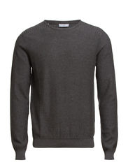 Galen crew neck ID - Medium Grey Melange