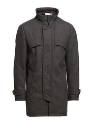 Paxton Wool Coat ID - Black