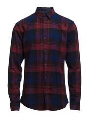 One Flannel big check shirt ls I - Caviar
