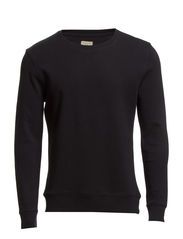 Urban crew neck sweat H - Black