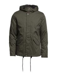 Cean Cotton Jacket ID - Olive Green
