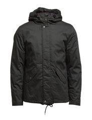 Cean Cotton Jacket ID - Pirate Black