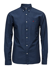 Collect shirt ls r  NOOS H - Navy Blazer