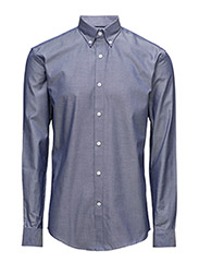 SHDONE OAK SHIRT LS NOOS - DARK BLUE