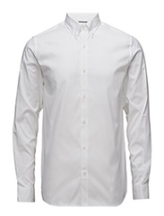 SHDONE OAK SHIRT LS NOOS - WHITE