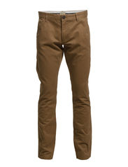 Three Paris camel chino pants NOOS H - Dark camel