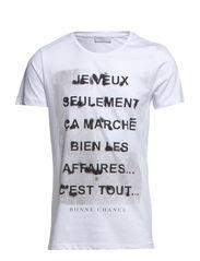 Paris jeveux ss o-neck IDX - White