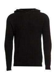 Structured hoodie IDX - Black