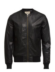Driggs Leather Jacket IX - Black