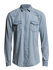 One SHClash shirt ls I - White