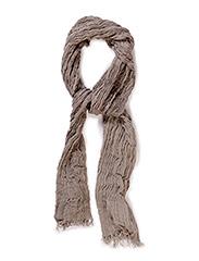 SHEven crinkle scarf I - Flint Gray