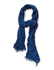 SHEven crinkle scarf I - Medieval Blue
