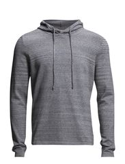 SHEddie hood I - Light Grey Melange