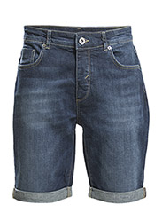 Cash 3954 denim shorts NOOS I - Dark Blue Denim