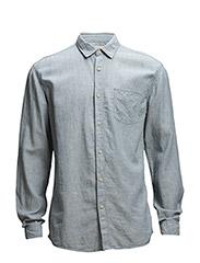 One SHLiam shirt ls I - Faded Denim
