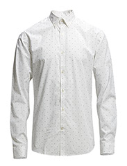 One SHBolt shirt ls ID - White