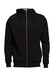 SHBecks zip hood sweat IX - Black