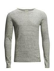SHRew crew neck I - Grey Melange