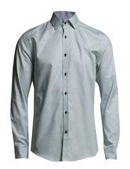 One SHCross shirt ls ID - White