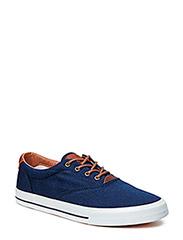 SHJacob Canvas Shoe H - Navy Blazer