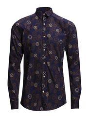 One SHMiro shirt ls IX - Blue Depths