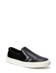 SHViggo Leahter Slipon Shoe ID - Black