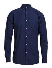 One Mood Washed shirt ls HX - True Navy