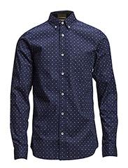 One SHBertram shirt ls H - Navy Blazer