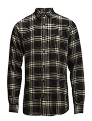 One SHCheck shirt ls I - BLACK