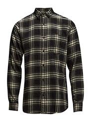 One SHCheck shirt ls I - BLACK