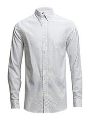 One SHLeth shirt ls ID - Bright White