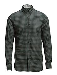 One SHZola shirt ls ID - Dark Green