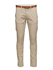 SHHYARD WHITE PEPPER SLIM ST PANTS NOOS - WHITE PEPPER