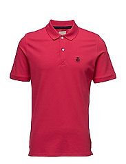 SHDARO SS EMBROIDERY POLO NOOS - ROSE RED